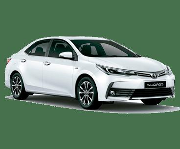 Carros Executivos: Corolla